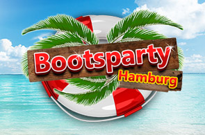 Banner Bootsparty Hamburg 2016