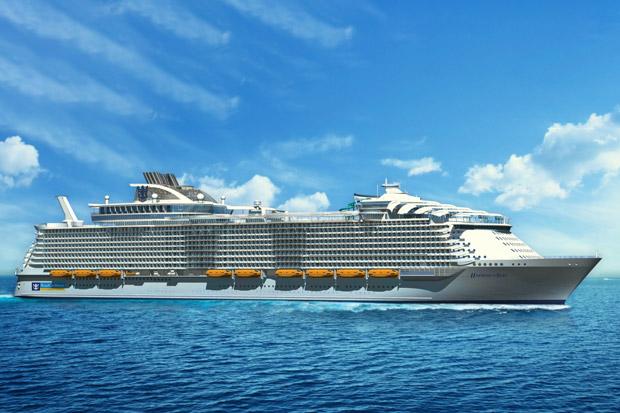 Harmony Of The Seas Das Größte Schiff Der Welt